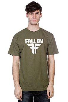 Футболка Fallen Insignia Logo Surplus Green/Dust