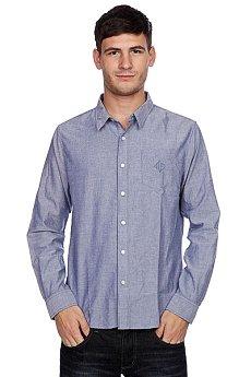 Рубашка Huf Classic Chambray Woven Blue