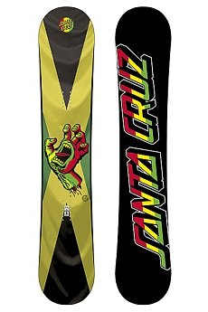 Сноуборд Santa Cruz Screaming Hand Rasta 154