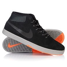 ���� ������� Nike Koston Mid Shield Black/Black/Hyper Crimson