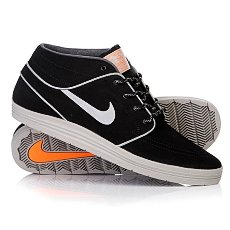���� ������� Nike Lunar Stefan Janoski Md Shield Black/Reflect Silver/Hyper Crimson