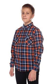 Рубашка в клетку детская Globe Corsair Junior Shirt Blue/Orange