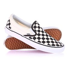 Слипоны Vans U Classic Slip-On Blk Whtchckerbo Black