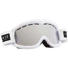Маска для сноуборда подростковая Electric EG1K Gloss White Bronze/Silver Chrome
