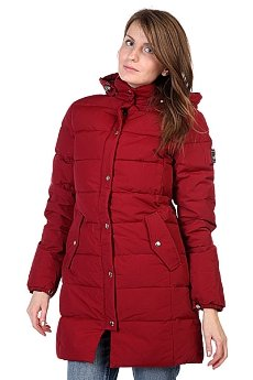 ������ ������� Penfield Millis Thigh Lgth Hooded Down Jkt Red