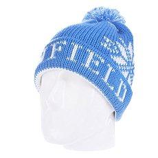 ����� � �������� Penfield Accs Dumont Snowflake Bobble Beanie Light Blue