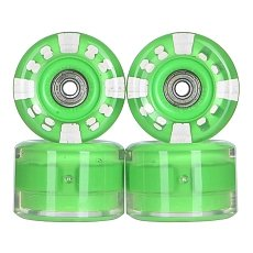 ������ ��� ��������� � ������������ Sunset Long Board Wheel With Abec9 Green 78A 65 mm