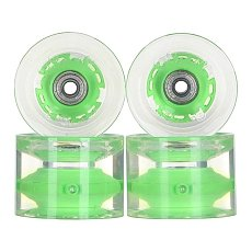 ������ ��� ��������� � ������������ Sunset Long Board Wheel With Abec9 Green 78A 69 mm