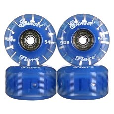 ������ ��� ���������� Sunset Street Wheel With Abec9 Blue 90A 54 mm