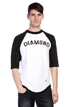 Лонгслив Diamond Dugout 98 Raglan White/Black
