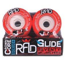������ ��� ��������� RAD Glide Wheels Red 80A 70 mm