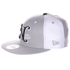 Бейсболка New Era Nor Cal Louisville 59 Fifty Grey/White