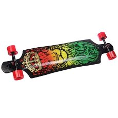Лонгборд Santa Cruz Lion God Drop Thru Cruzer Black/Yellow/Red/Green 10 X 40 (101.6 см)