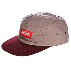 ��������� TRUESPIN Dezert 5 Panel Cap Grey Burgundy