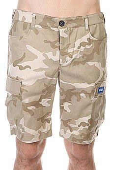 ����� Skills Cargo Shorts 2 Biege/Camo