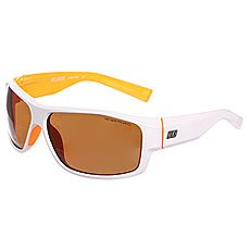 ���� Nike Expert P Brown Polarized Lens/White/Laser Orange