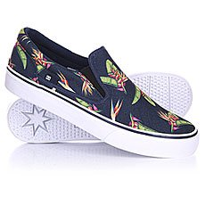 ������� DC Trase Slip On SP Navy Monogram