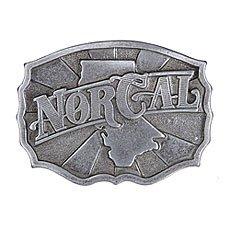 Пряжка Nor Cal Distiller Silver