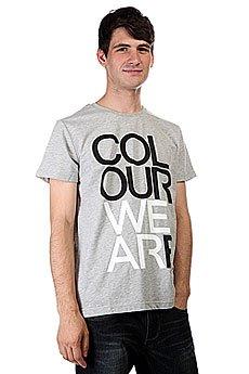 Футболка CLWR We Are Grey Melange