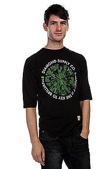 Лонгслив Diamond Simplicity Raglan Black/Green