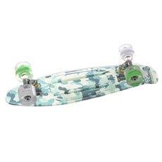 ����� ���� ������� Sunset Camo Grip Complete Green Camo Deck White/Green Wheels 6 x 22 (56 ��)