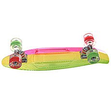 ����� ���� ������� Sunset Rasta Graphic Complete Yellow Deck Red/Green Wheels 6 x 22 (56 ��)