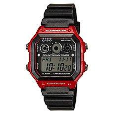 Часы Casio Collection Ae-1300wh-4a Black/Burgundy