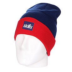 ����� ����� Skills New Sport Beanie Blue/Red