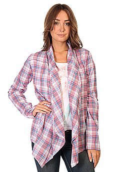 Рубашка в клетку женская Zoo York Lucy Top White