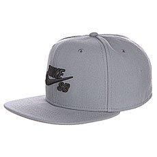 ��������� � ������ ��������� Nike Icon Tumbled Grey/Black/Tumbled Grey/Black