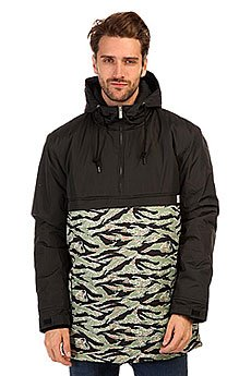 ������ TrueSpin Fishtail Anorak Black/Camo