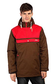 ������ TrueSpin Cloud Jacket Coffee/Red