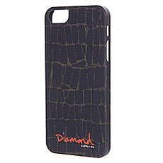 Чехол для iPhone 5/5S Diamond Croc Case Black