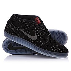 ���� ������� Nike Lunar Stefan Janoski Mid Flash Black/Black Clear