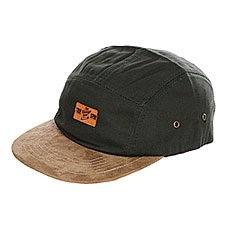 ��������� ������������ TrueSpin Herritage 5 Panel Cap Green Brown