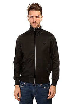 ��������� ������������ Fred Perry Perry Tricot Harrington Jacket Black