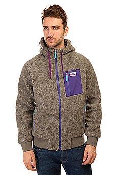 ��������� ���������� Penfield Mattingly Hooded Classic Pile Fleece Jacket Grey