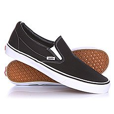 Слипоны Vans Classic Slip On Black