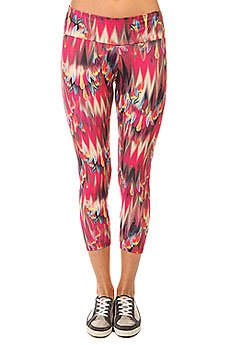 Леггинсы женские CajuBrasil Supplex Legging Multi/Red