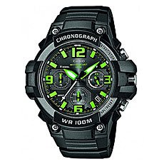 Часы Casio Collection Mcw-100h-3a Black/Green