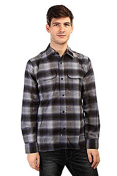 ������� � ������ The Hundreds Hombre Ls Flannel Navy