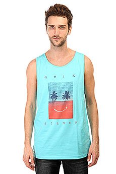 ����� Quiksilver Class Tank Sad Tees Bluefish