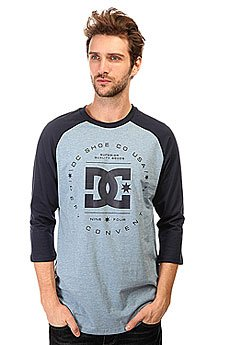 �������� DC Rebuilt Raglan Tees Heather Blue