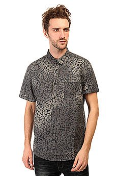 ������� Quiksilver Crackedshirtss Cracked Anthracite