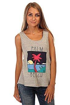 Майка женская Roxy Paradisepalmbch J Tees Heritage Heather
