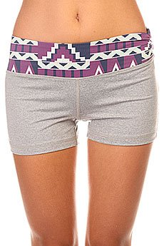 Шорты пляжные женские Roxy Own It Short 2 J Ndst Heritage Heather
