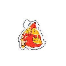 Значок Pyromaniac Rooster Orange/Red