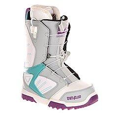 Ботинки для сноуборда женские Thirty Two Z Groomer Ft Grey/White