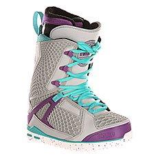 Ботинки для сноуборда женские Thirty Two Z Tm-two Grey/Purple
