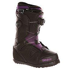 Ботинки для сноуборда женские Thirty Two Z Binary Boa Black/Purp